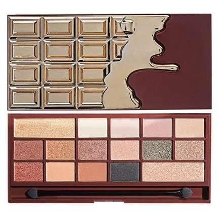 paleta do makijażu w kształcie czekolady